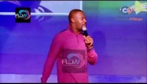 Video: Okey Bakassi Performs at a Show